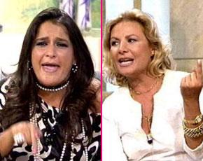 Agresión en directo entre  Aida Nizar y Beatriz 'la marquesa de GH'