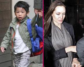Angelina Jolie y Brat Pitt concluyen los trámites de adopción de su cuarto hijo