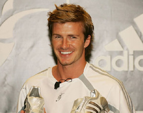 El beso del complaciente David Beckham y sus efectos