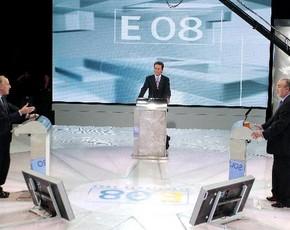 """Primer debate electoral en A3: con """"educación"""", discutieron sobre el mantenimiento de la """"despensa"""""""