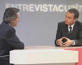 Las dos caras de la entrevista de Gabilondo a Zapatero en Cuatro