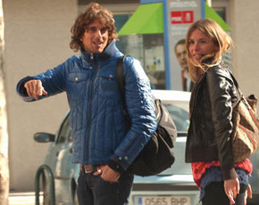 Piero, concursante de GH 9, de paseo con su nuevo amor