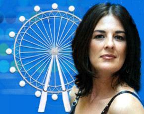 Ángela Portero protagoniza un acalorado debate en 'La Noria', de Telecinco
