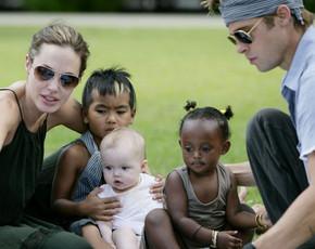 Angelina Jolie y Brad Pitt son la pareja más generosa de Hollywood
