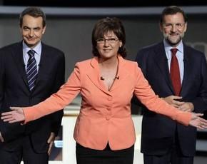 Zapatero y Rajoy, 2º debate gemelo