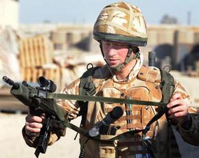 Harry de Inglaterra sacado de Afganistán