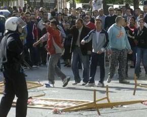 Dos periodistas heridos en la audiencia nacional de Huelva
