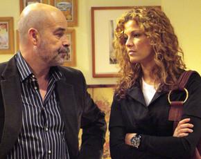 """Las dudas de Diego sobre un posible embarazo de Celia en """"los serrano"""""""