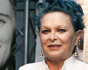 La actriz Lucía Bosé,  en 'La Noria' de Telecinco