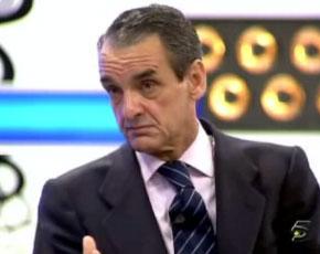 """Mario Conde. El eterno galán de las Finanzas se subió a """"La Noria"""" de Telecinco"""