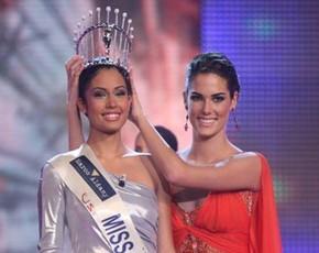 Patricia Yurena Rodríguez es Miss España 2008
