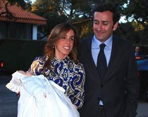 Ana Aznar y Alejandro Agag celebran el bautizo de su 3º hijo, Pelayo