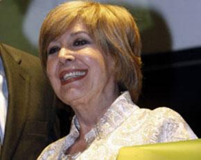 Concha Velasco recupera la sonrisa