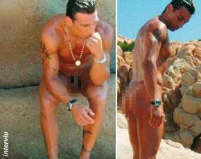 ¿Constantino = Darek? Desnudo en la revista Interviu