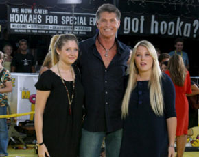 El actor David Hasselhoff por fin consigue el divorcio
