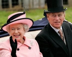 El Duque de Edimburgo de nuevo en casa