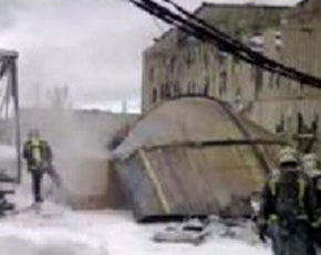 Grave explosión en una fábrica de Aranjuez