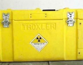 La maleta radiactiva terminó apareciendo