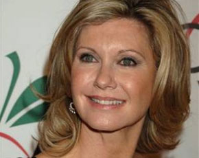 Olivia Newton-John recauda fondos contra el cáncer