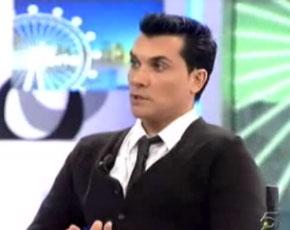 Andrés Burguera se subió a 'La Noria' de Telecinco